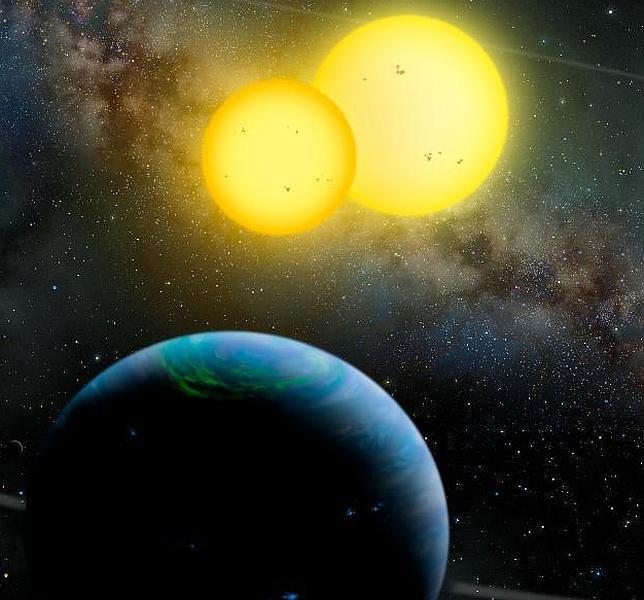 Descubren dos nuevos planetas con dos soles