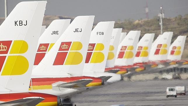 Iberia cancela 94 vuelos este viernes en la sexta jornada de huelga de pilotos