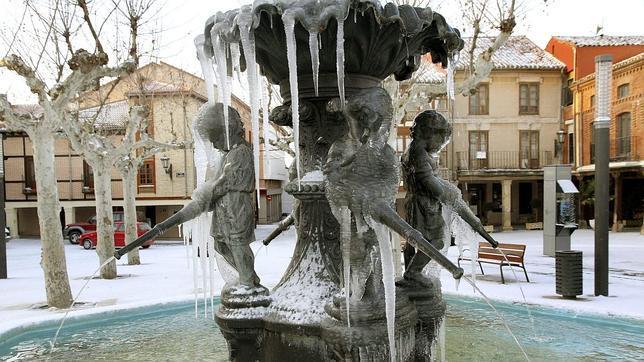 El frío siberiano deja al viernes en negativo