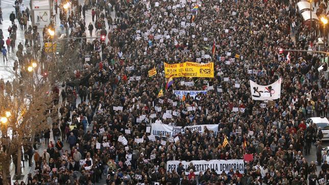 «Primavera valenciana», una revuelta diseñada con engaños