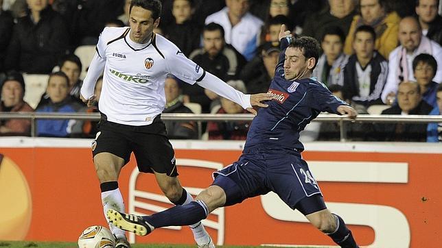 El Valencia, a octavos de la Europa League ante un Stoke City fundido