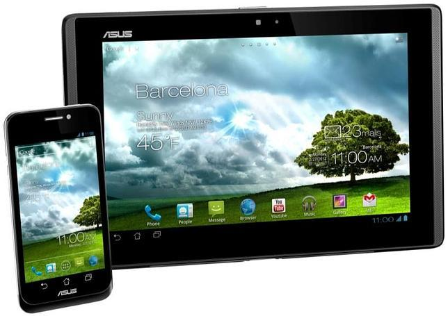 ASUS presenta su PadFone y nuevos tablets