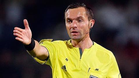 Un árbitro inédito para el Madrid