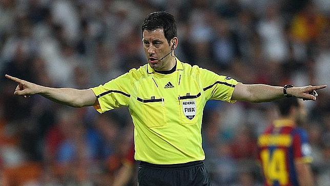 Wolfgang Stark, árbitro de la final de la Europa League