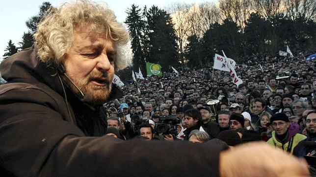 Beppe Grillo, el deseo del cambio italiano