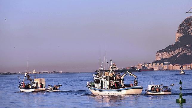 Algeciras espera que esta semana termine el acoso de Gibraltar a los pesqueros