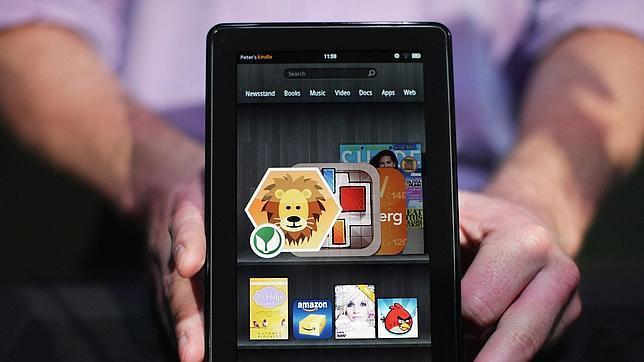 Amazon.com bajará el precio de la «Kindle Fire» ante la llegada de un nuevo modelo de «tablet»