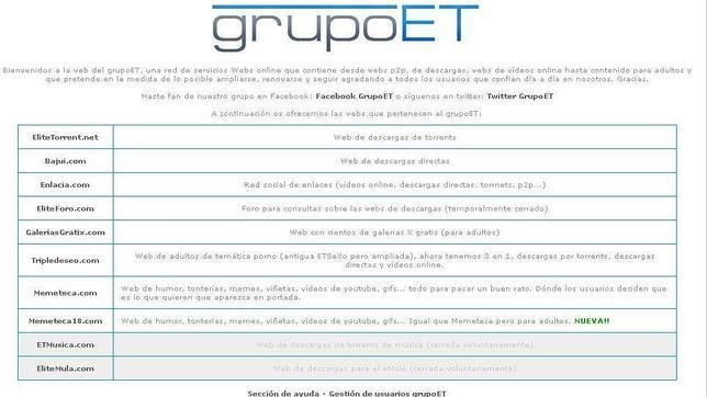 La Ley Sinde actúa por primera vez contra ocho webs de enlaces en España