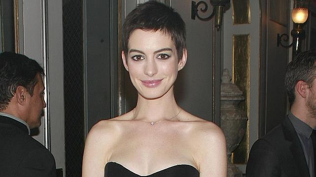 Anne Hathaway se pone a dieta para «Los Miserables»