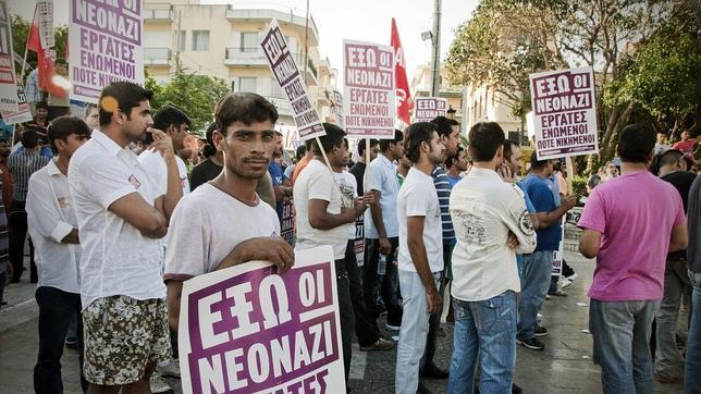 Aumentan los ataques a inmigrantes en Grecia