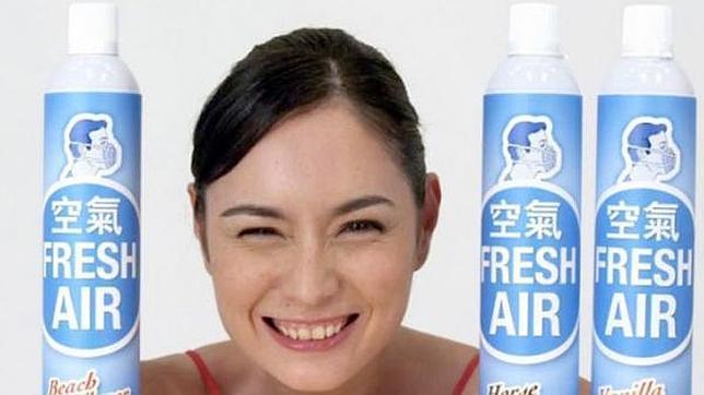 El millonario chino que va a vender aire enlatado