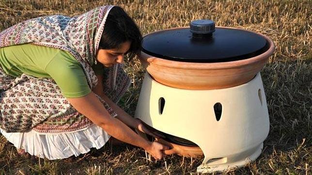 El horno que convierte el agua salada en dulce