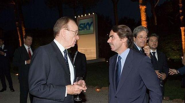 Murdoch le sube el sueldo a Aznar hasta los 198.000 euros