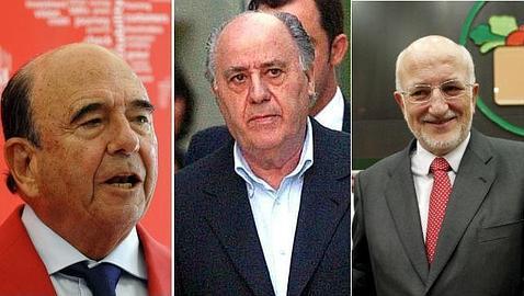 Botín, Ortega y Roig, los empresarios más influyentes de España
