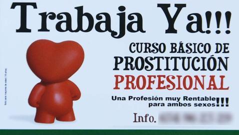 Vuelven los cursos de prostituta tras el archivo de la Fiscalía