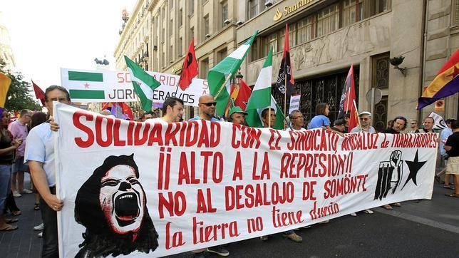 Arranca la marcha del SAT en Almería con 300 personas