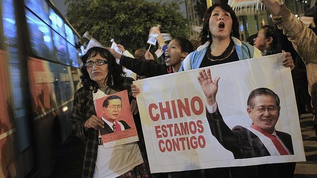 Los Fujimori piden a Humala libere al expresidente a través del indulto humanitario