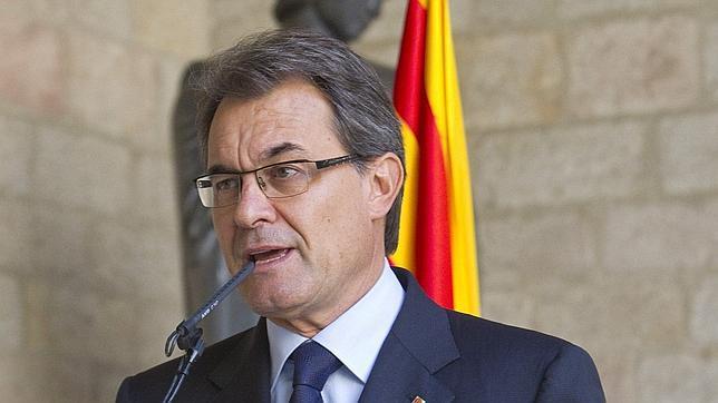 Mas: «Tener un Estado propio para Cataluña no significa una independencia total»