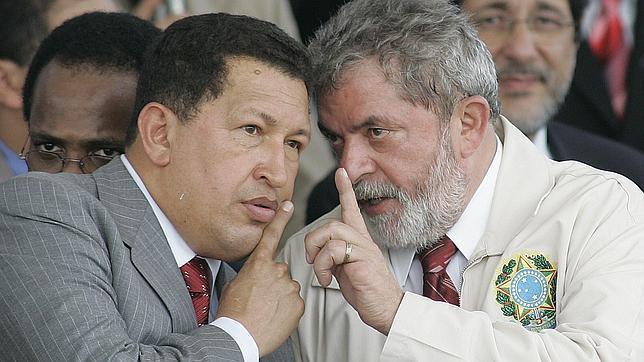 Lula da Silva: «El compañero Chávez debe empezar a preparar su sucesión»