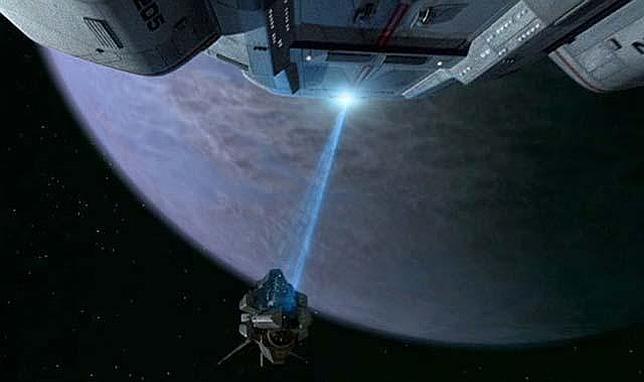 El rayo tractor de «Star Trek», (casi) una realidad