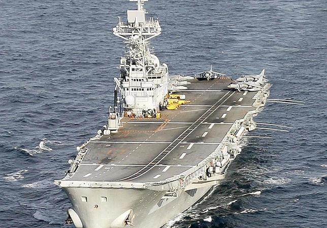 España se despide del portaaviones «Príncipe de Asturias», que será desguazado el año próximo
