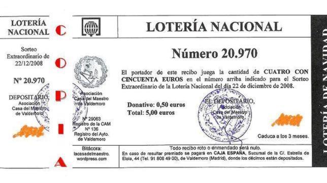 Comprobar Decimo Loteria Navidad 2012 Loteria De Navidad 2012 Preguntas Y Respuestas Sobre La Venta De