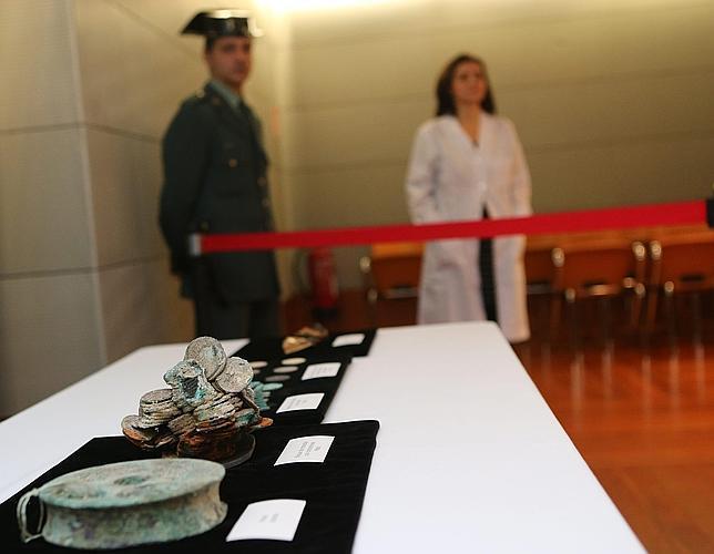 Todas las monedas del caso Odyssey irán al Museo Arqua de Cartagena