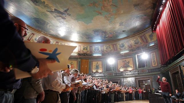 Coristas aficionados para «El Mesías» de Häendel