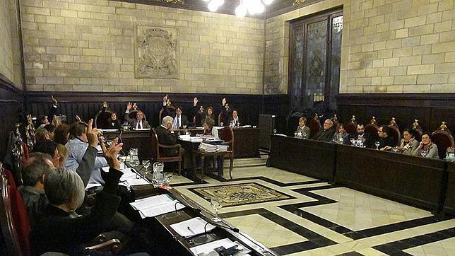 Gerona se declara territorio catalán libre y soberano