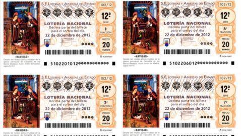 Comprobar Decimo Loteria Navidad 2012 Loteria De Navidad 2012 Como Se Fabrican Los Decimos De Loteria