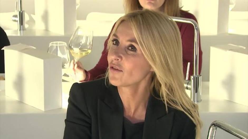Cayetana Guillén Cuervo Embajadora Del Vino D O Somontano Y La D O Jamón De Teruel