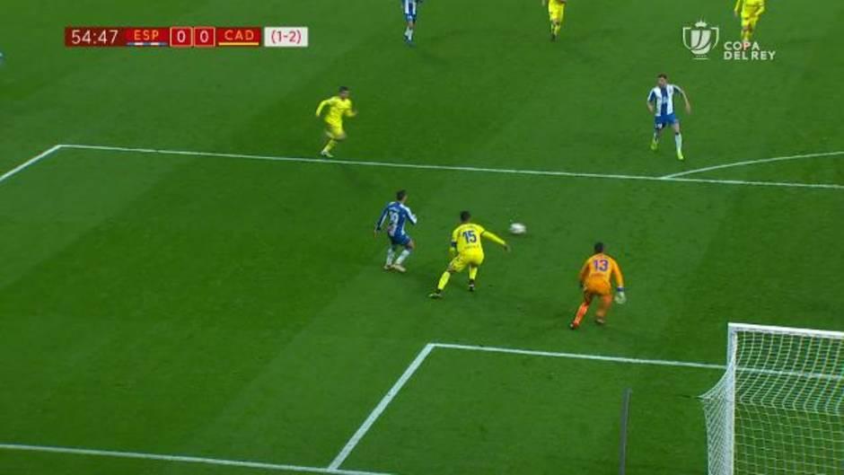 Copa del Rey: Resumen y gol del Espanyol 1-0 Cádiz