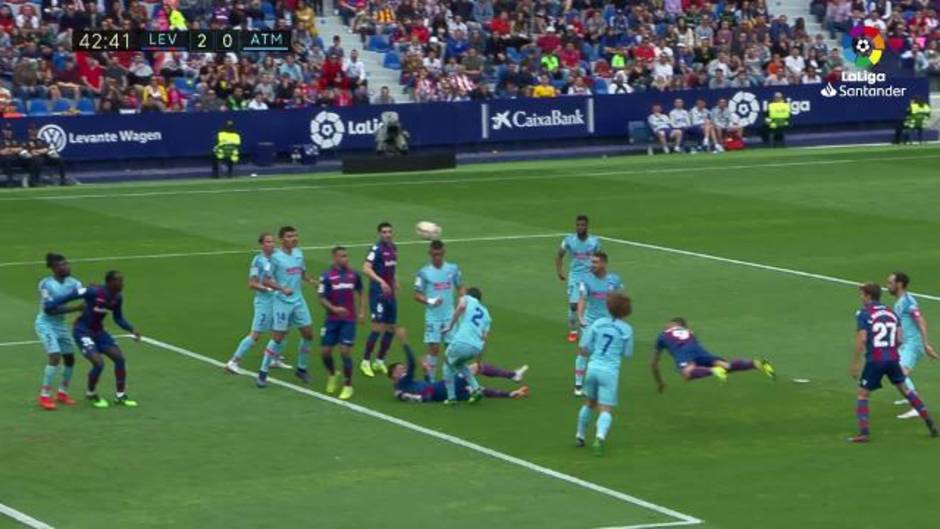 LaLiga Santander (J38): Resumen y goles del Levante UD 2-2 Atlético de Madrid