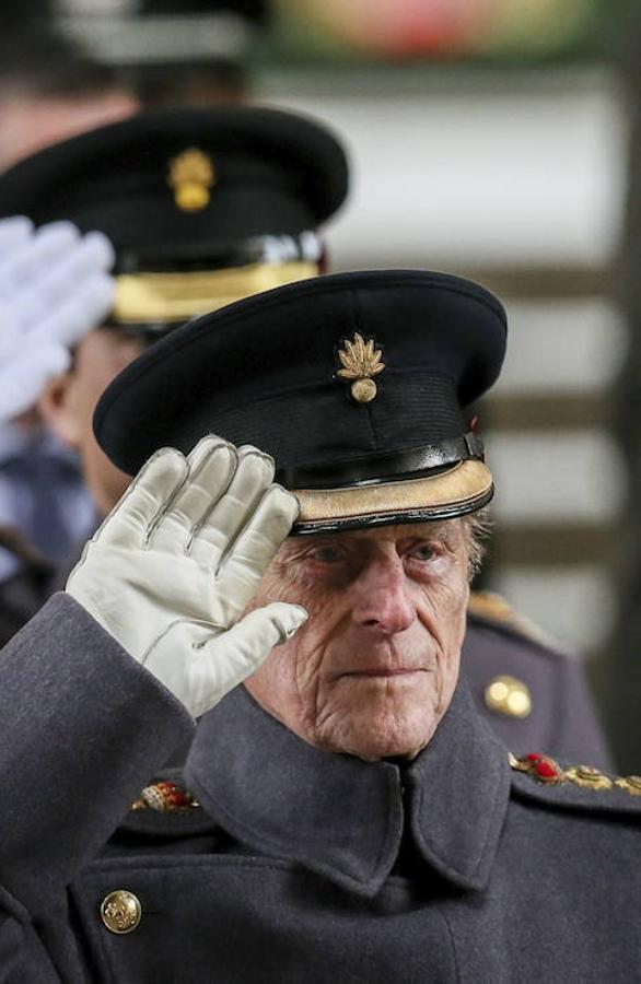 El Duque de Edimburgo ha dado su paso atrás a petición propia y apoyado por la Reina