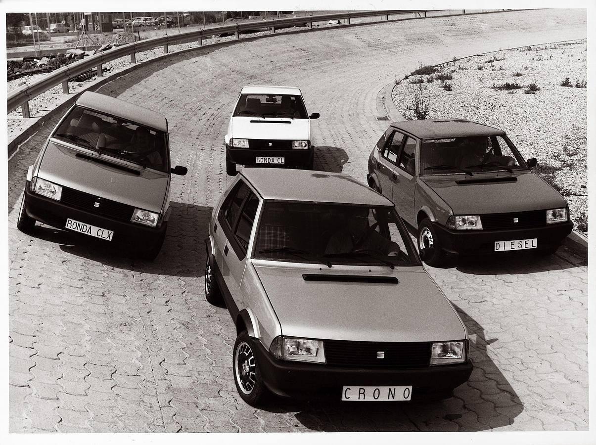 El Ronda fue el primer SEAT con nombre español. Se fabricaron 177.900 unidades entre 1982 y 1986