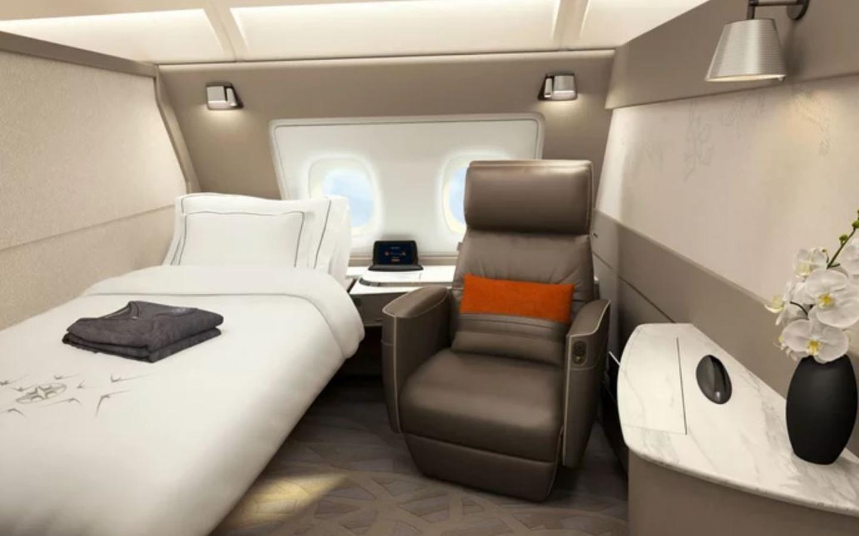 Dormitorio, Singapore Airlines