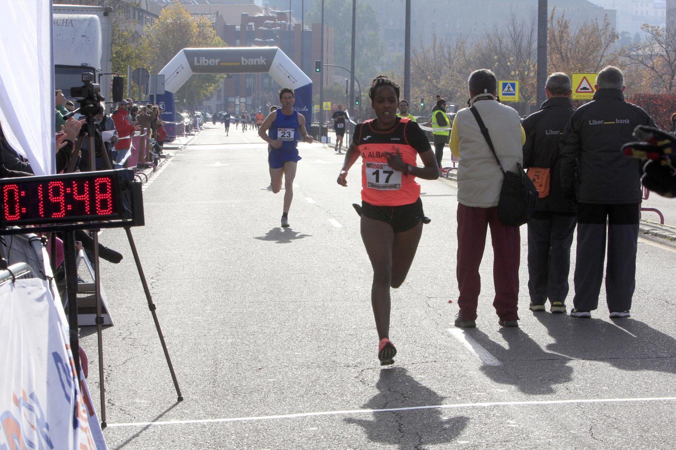 También se ha celebrado otra prueba de patines de 10 kilómetros y una legua atlética en la que han participado 50 corredores