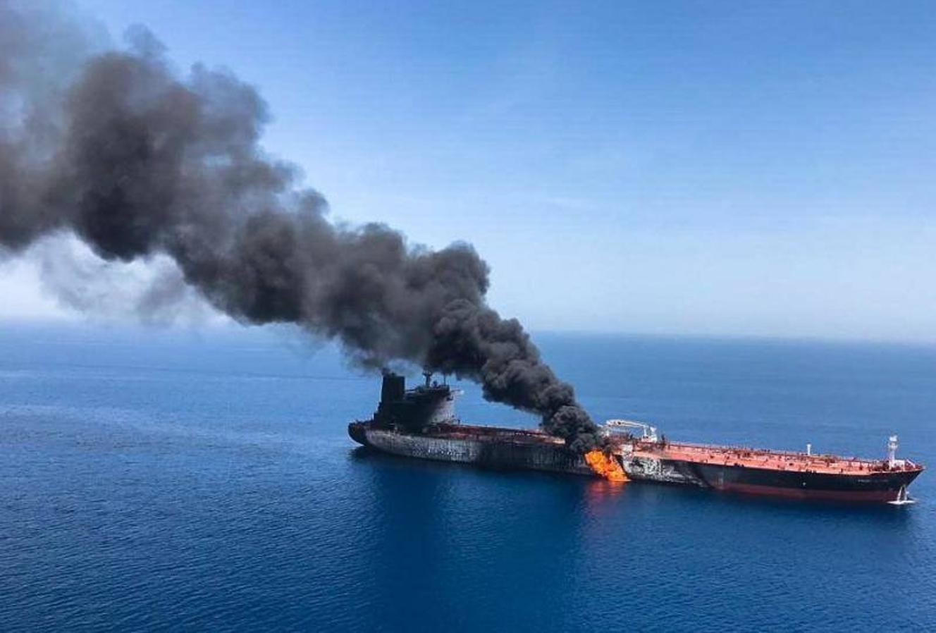 Los dos cargueros afectados son japoneses, según gobierno nipón