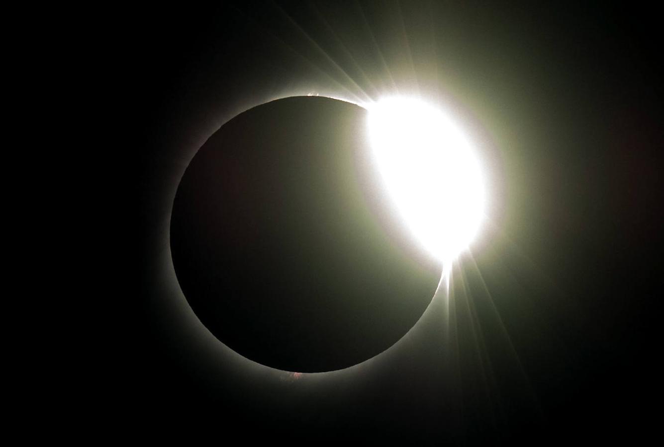 Así se vio el gran eclipse sudamericano