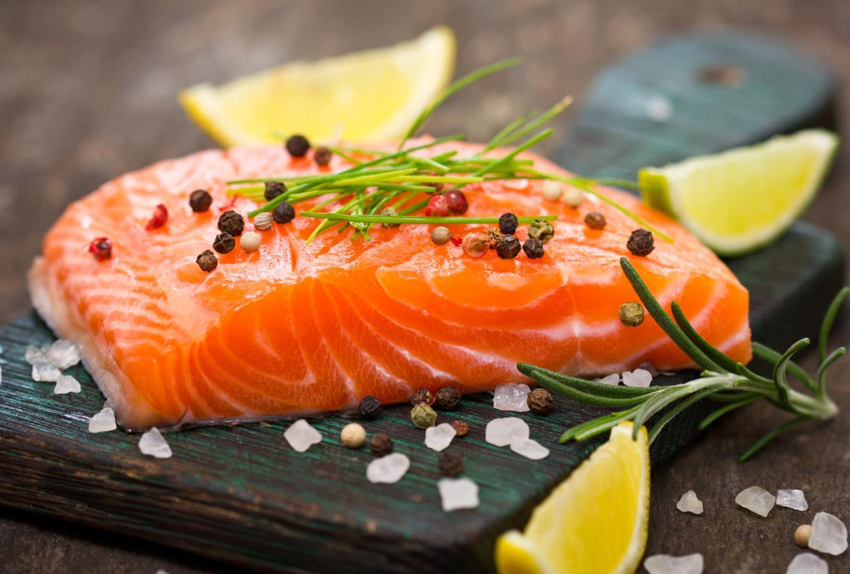 Salmón, alimento cardiosaludable