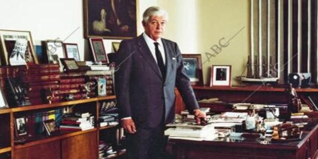 10 años sin Guillermo Luca de Tena, el gran editor - Archivo ABC