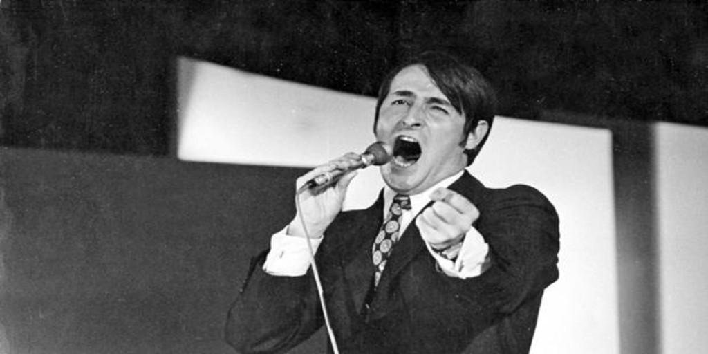 El fatal accidente que arrebató la voz a Nino Bravo - Archivo ABC