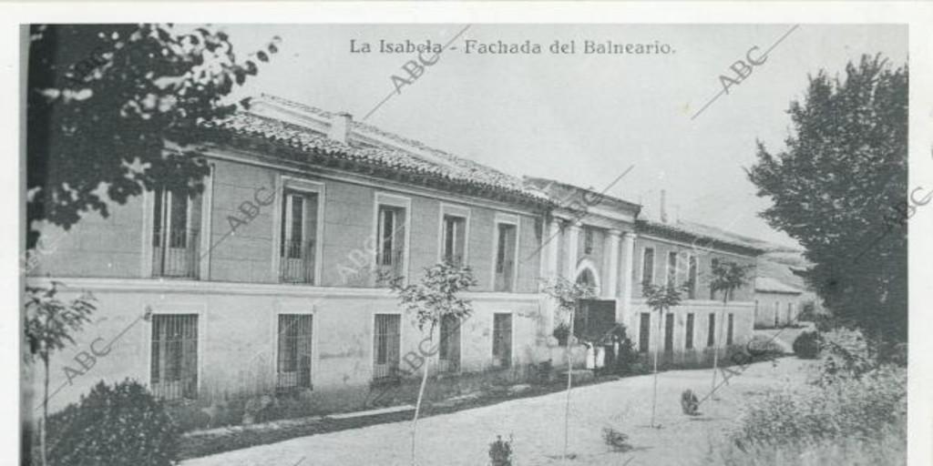 El Real Sitio sumergido bajo las aguas en Guadalajara - Archivo ABC