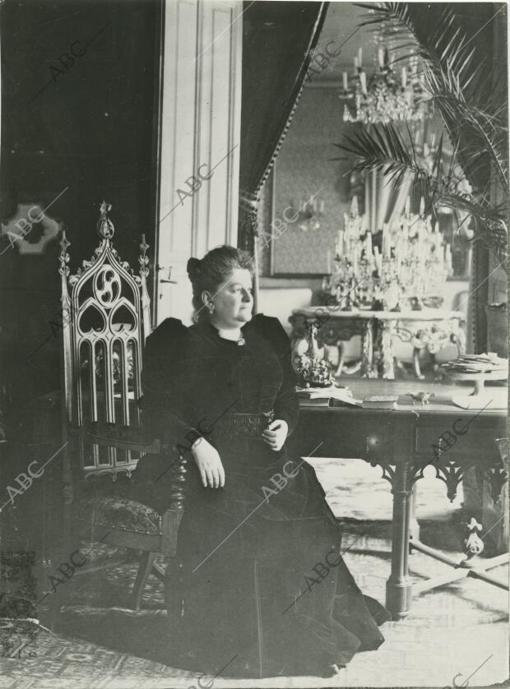 Portrait of Emilia Pardo Bazán