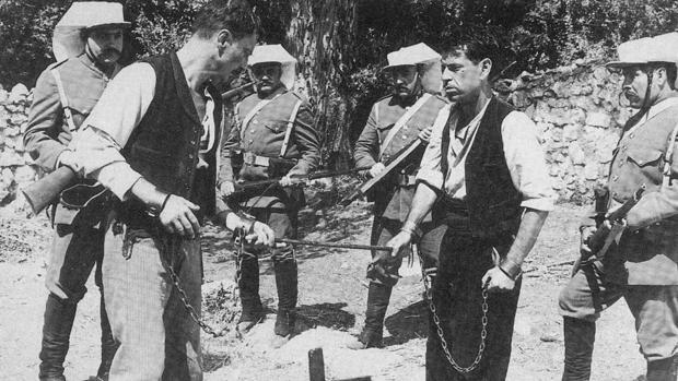 Fotograma de la película «El crimen de Cuenca»