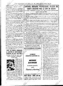 Página del periódico donde se anuncia la fundación de la Copa de Europa.