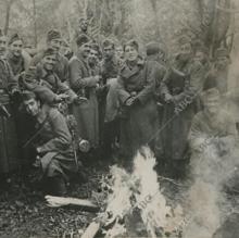 Voluntarios de la División Azul en Leningrado