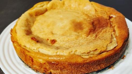 Tarta de queso mascarpone.