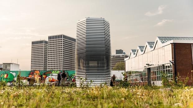 La Smog Free Tower de Rotterdam
