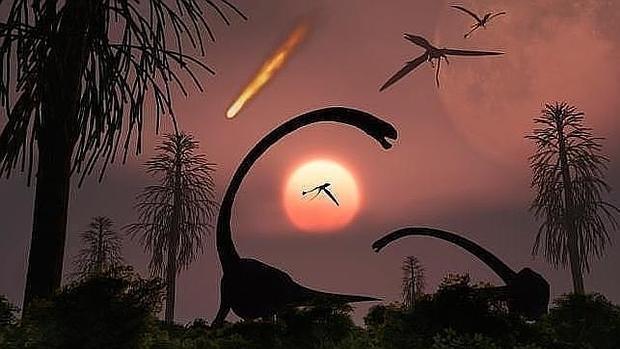 El Meteorito Que Mato A Los Dinosaurios Provoco Una Noche De Dos Anos La principal es que desaparecieron por la caída de un meteorito de 15 kilómetros de largo en chibxulub, península de yucatán. el meteorito que mato a los dinosaurios